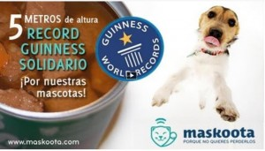 Record Guinness Solidario de Maskoota