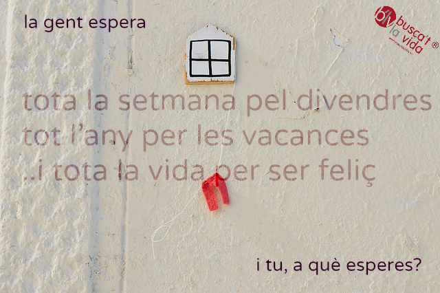 Esperar tot un any per fer vacances?