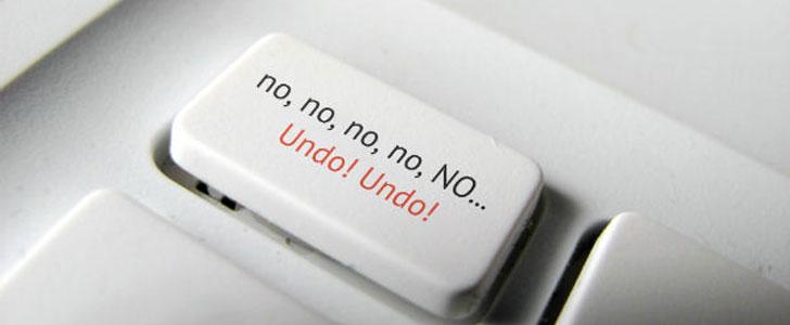 undo send mail